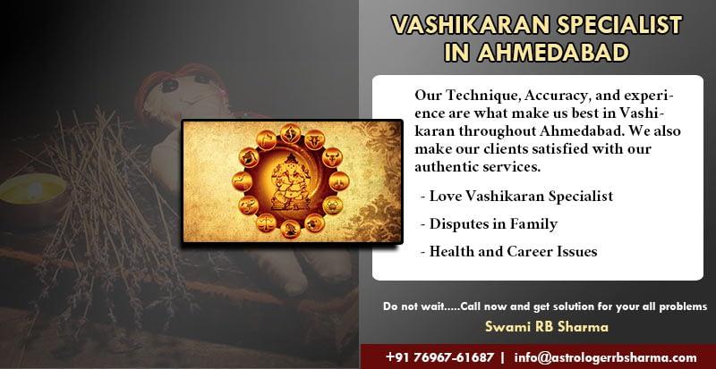 Best Astrologer Vashikaran Specialist in Ahmedabad RB Sharma