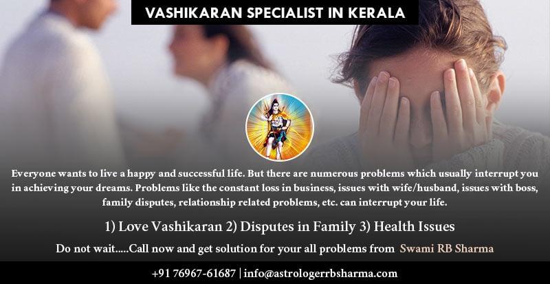 Best Astrologer Vashikaran specialist in Kerala RB Sharma